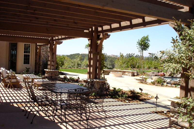Patio Cover Wood factory direct remodeling of atlanta - photo gallery