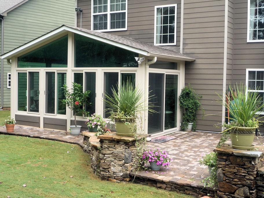 factory direct remodeling of atlanta - photo gallery - Sunroom Patio Designs