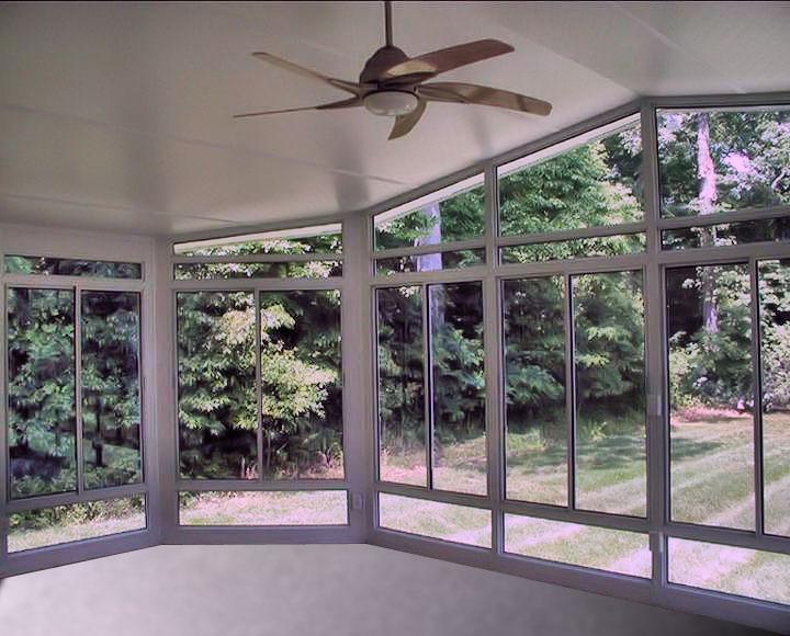 Interior Wall Of Sun Room Knee